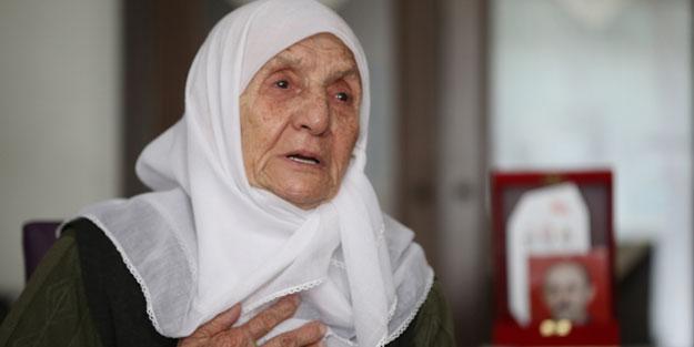 94 yaşındaki şehit annesinden Erdoğan'ın başlattığı kampanyaya anlamlı destek