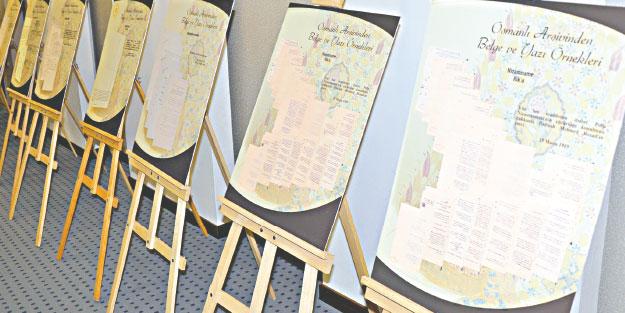 95 milyon Osmanlı belgesi arşivlendi