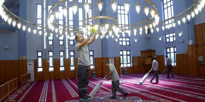Şehitkamil'deki camiler Ramazan ayına hazır