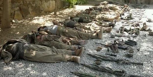 99 terörist öldürüldü