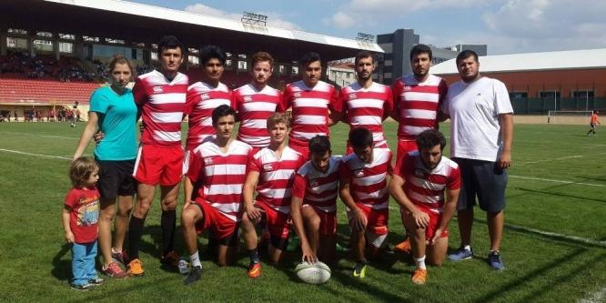 Türkiye erkekler 7'li Ragbi Bölgesel Ligi şampiyonu Eskişehir Aqua Rugby Warriors oldu