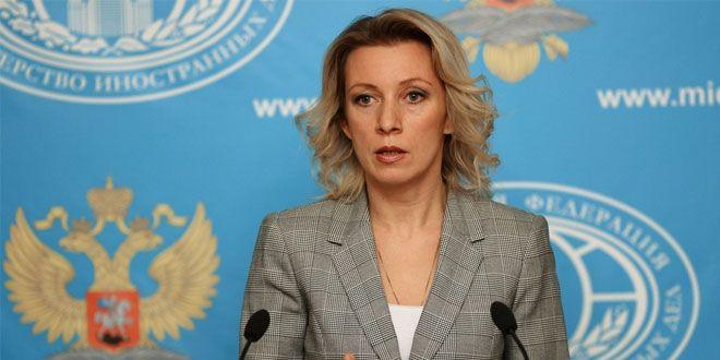 Zaharova: Yaptırımlar, Ukrayna halkına saygısızlık