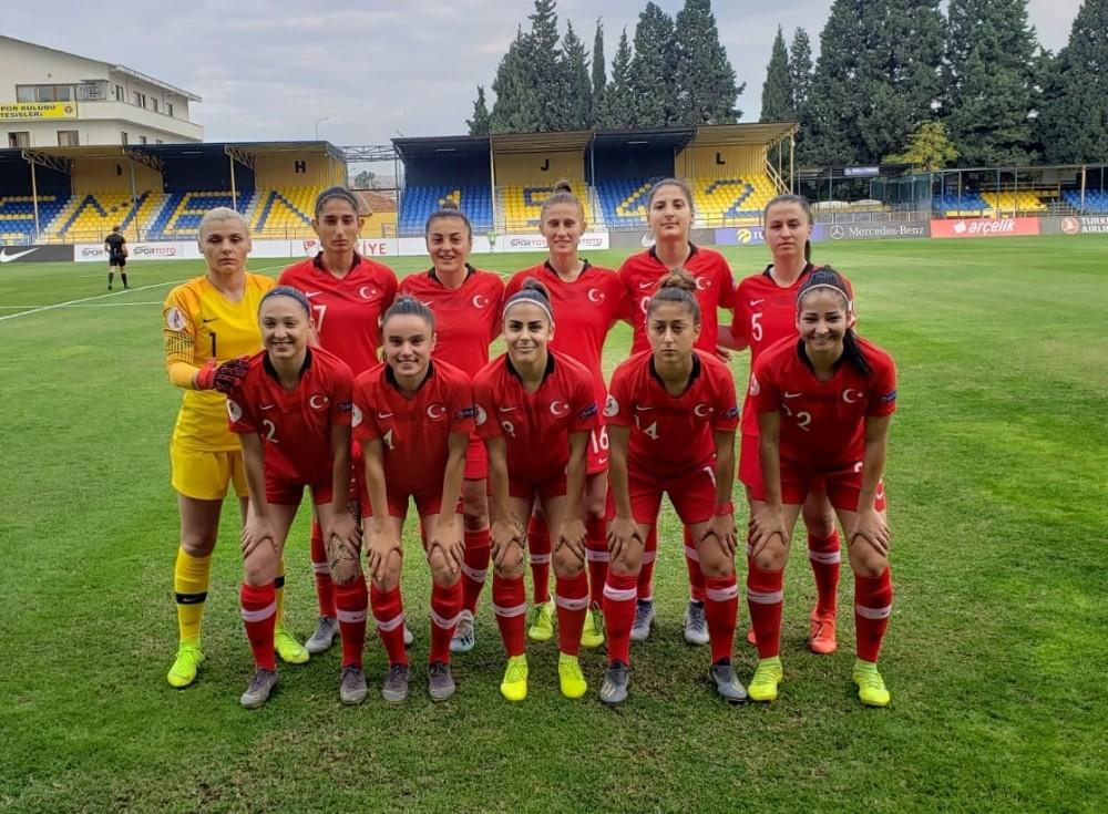 A Milli Kadın Futbol Takımı'nın Malta maçı aday kadrosu açıklandı
