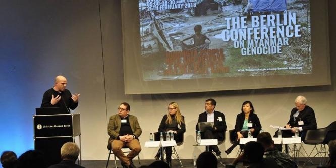 Almanya'da Arakan konferansı