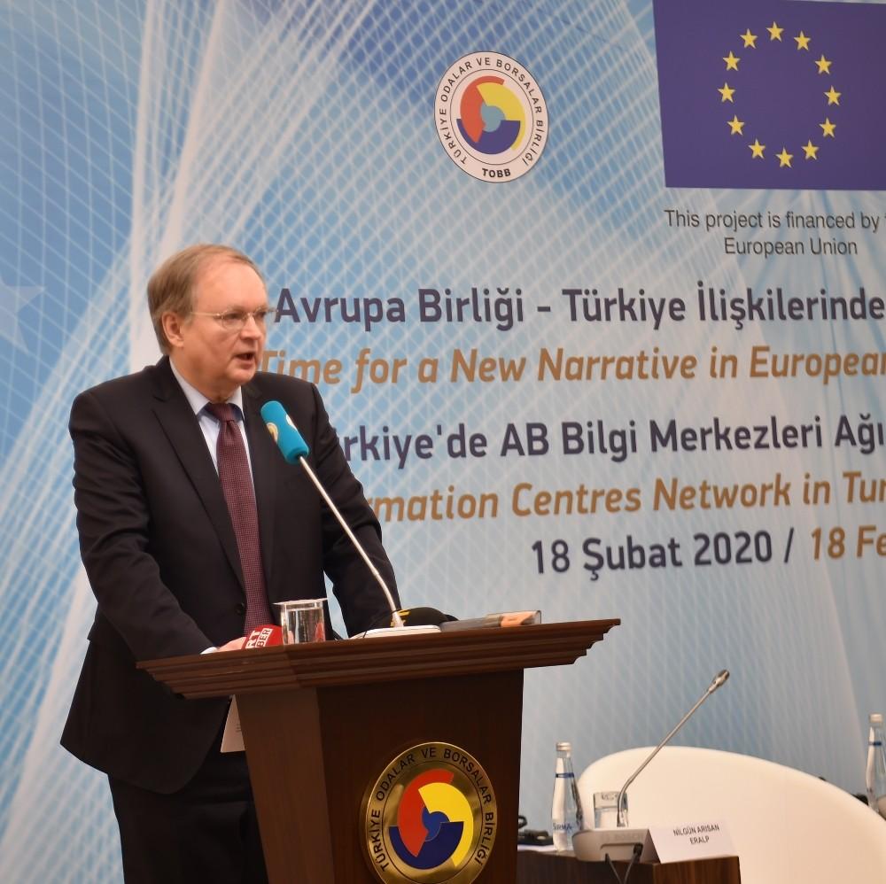 AB Türkiye Delegasyonu Başkanı Büyükelçi Berger: