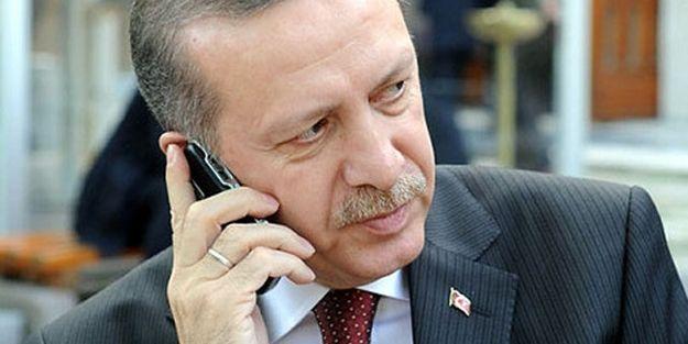 Abbas'tan Erdoğan'a telefon