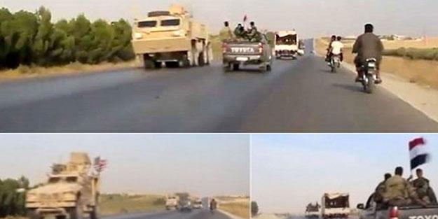 ABD askeri ile Esed rejimi karşı karşıya geldi! Bakın ne yaptılar