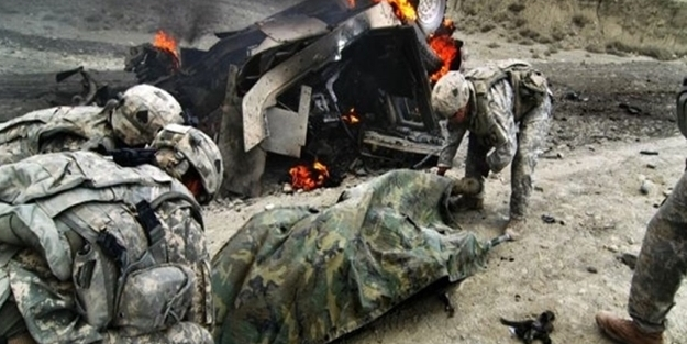 ABD askerlerine saldırı... çok sayıda ölü var