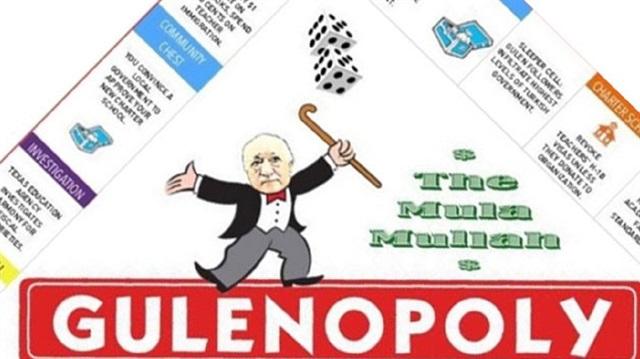 ABD basını FETÖ'nin kirli yüzünü Monopoly'le anlattı