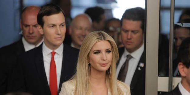 ABD basını Trump ve kızını yerin dibine soktu!