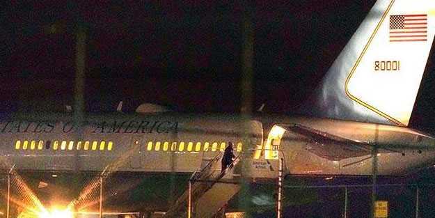ABD Başkan Yardımcısı Pence'in uçağı acil iniş yaptı