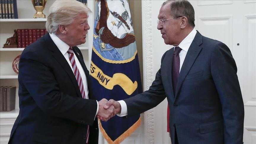 ABD Başkanı Trump ve Lavrov Beyaz Saray'da bir araya gelecek