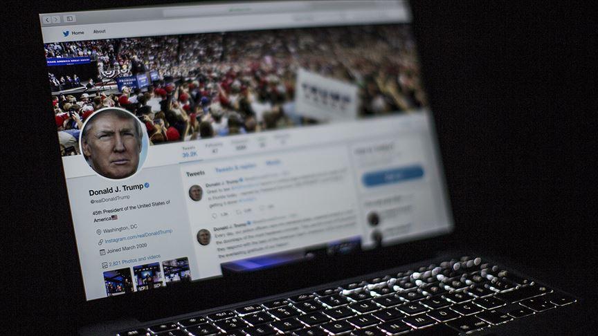 ABD Başkanı Trump'ın Twitter kullanımı mercek altına alındı