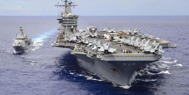ABD bölgeye uçak gemilerini gönderiyor
