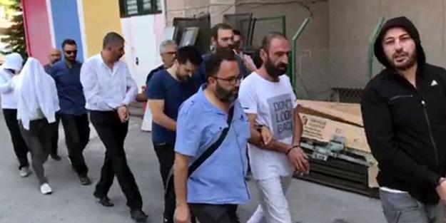 Büyükelçilik'e saldıranlar adliyeye sevk edildi