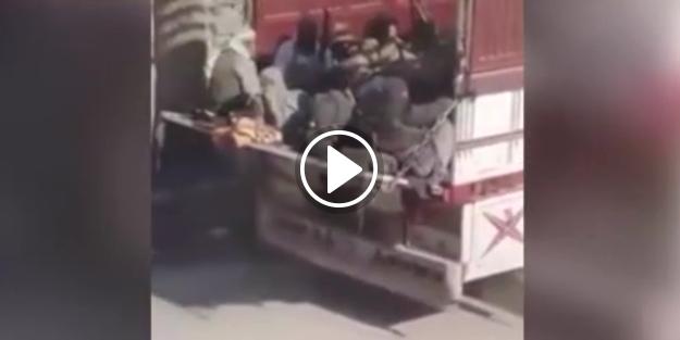 ABD, DEAŞ'lı teröristleri böyle tahliye etti