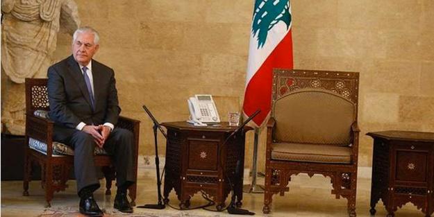 ABD Dışişleri Bakanı Tillerson Lübnan'da neye uğradığını şaşırdı