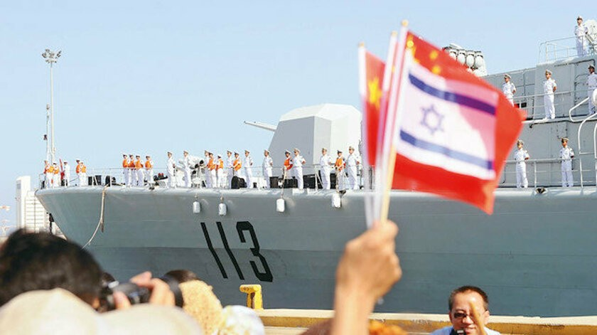 ABD, İsrail ve Çin üçgeni! Akdeniz'de ABD'ye Çin darbesi