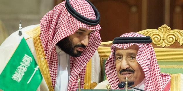 ABD kuklası Prens Selman'dan babasına
