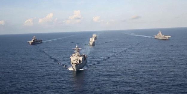 ABD savaş gemilerini göndermişti! İran'dan cevap