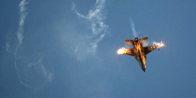 ABD, Savaş uçağı düştü