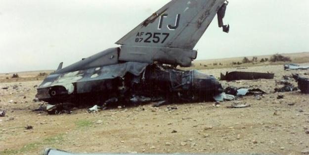ABD savaş uçağı düşürüldü