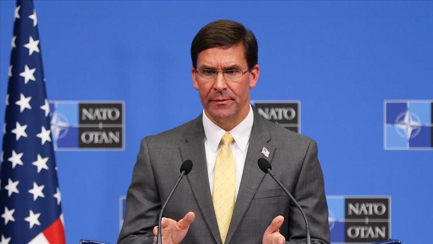ABD Savunma Bakanı Esper: SDG ile Türkiye'yle savaşmaları ya da devlet kurmaları için anlaşmadık
