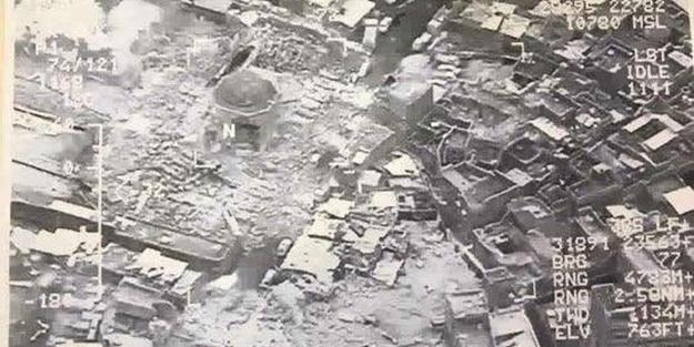 ABD Tarihi Camiyi Vurdu