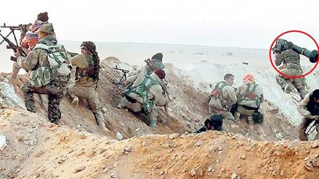 ABD teröristlere 'tank katili' verdi