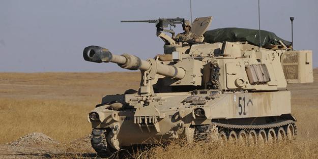 ABD Türkiye'yi tehdit mi ediyor! Türkiye sınırına zırhlı araç konuşlandırdı!