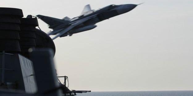 ABD uçağına Rus tacizi
