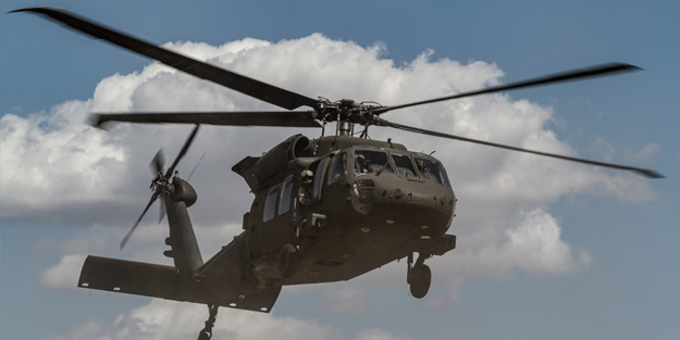 ABD'de askerleri taşıyan helikopter düştü! Ölüler var
