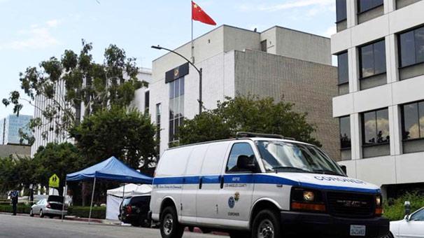 ABD'de Çin konsolosluğuna silahlı saldırı