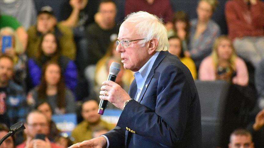 ABD'de Demokrat başkan aday adayı Bernie Sanders'tan Filistin çıkışı