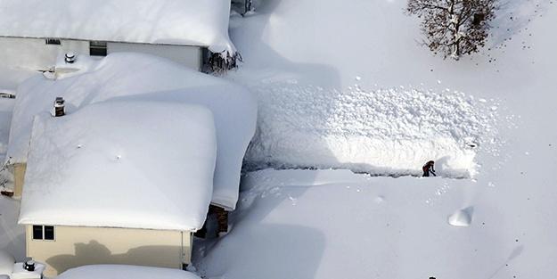 ABD'de kar fırtınasında 7 kişi öldü