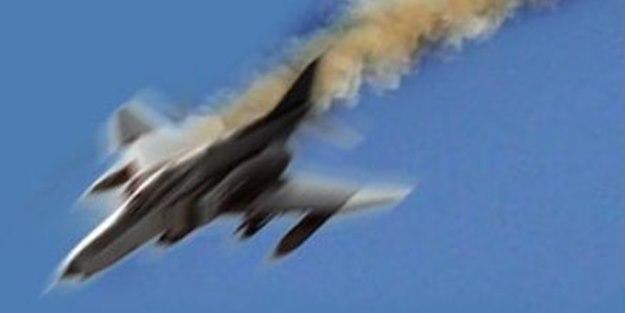 ABD'nin savaş uçağı düştü!