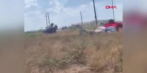 ABD'de silahlı saldırgan dehşeti kamerada