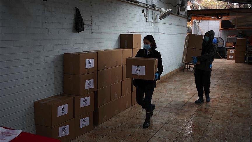 ABD'deki Zekat Vakfından 'Kovid-19 Acil Yardım Dağıtımı'