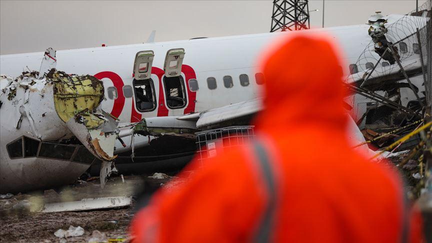 ABD'den gelen heyet kaza yapan uçağın enkazını inceleyecek