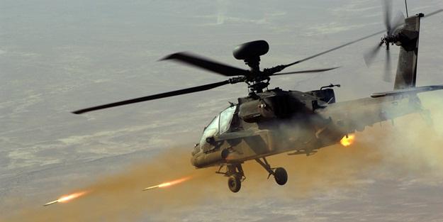 ABD'den PKK'ya Apache savaş helikopteri!