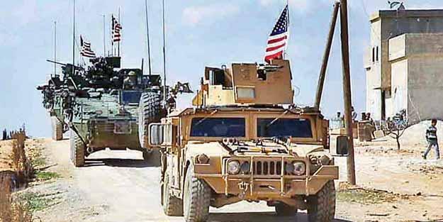 ABD'den terör devriyesi yüzsüzlüğü!