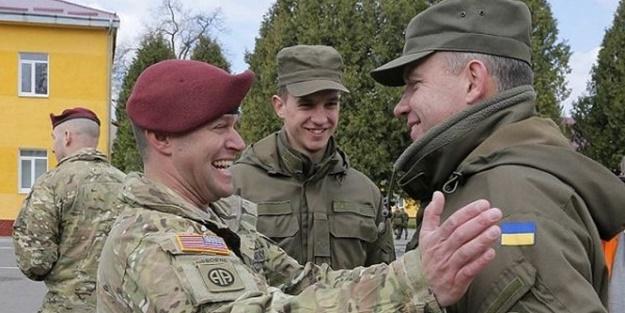ABD'den Ukraynalı askerlere eğitim