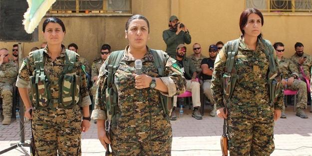 ABD'li askerler YPG'nin yemin törenine katıldı!