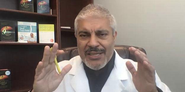 ABD'li Dr. Rashid Buttar'dan koronavirüs bombası: Kovid 19'dan bir tane ölen yok