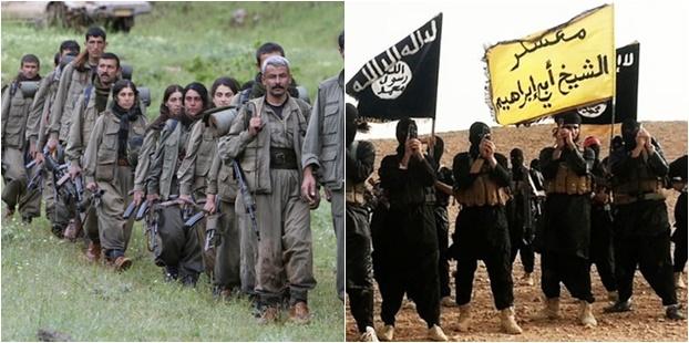 ABD'nin iki maşası: PKK (PYD) = IŞİD (DAİŞ)