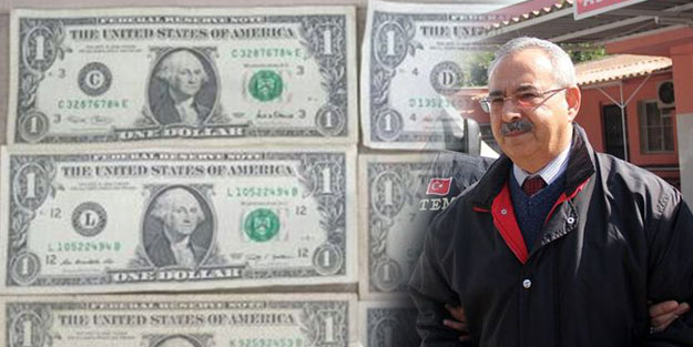 ABD konsolosluk tercümanın evinden 1 dolar çıktı