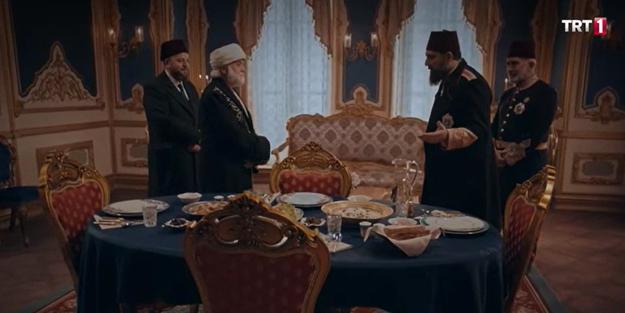 Abdulhamid Han ile Gümüşhanevî Hazretleri sahnesi izleyenleri mest etti!