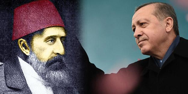 Abdülhamid'in misyonu Erdoğan'da vücut buldu