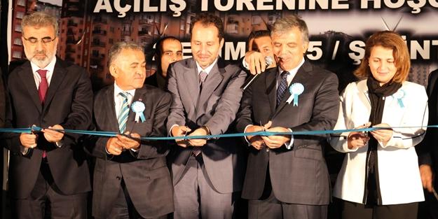 Abdullah Gül Erbakan Parkı'nın açılışını gerçekleştirdi