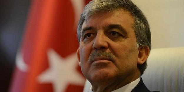 Abdullah Gül ile ilgili çarpıcı plan!